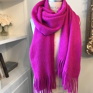 Fuchsia pink old navy scarf